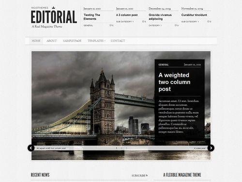 theme Editorial