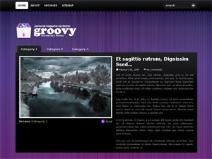 theme Groovy Blog
