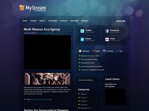 theme My Stream