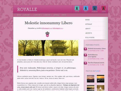 theme Royalle